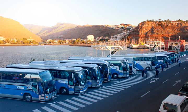 Transporte de pasajeros entre tenerife y la gomera - Transporte tenerife ...
